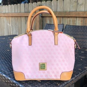 Dooney & Bourke Top Handle Charlie Satchel Handbag